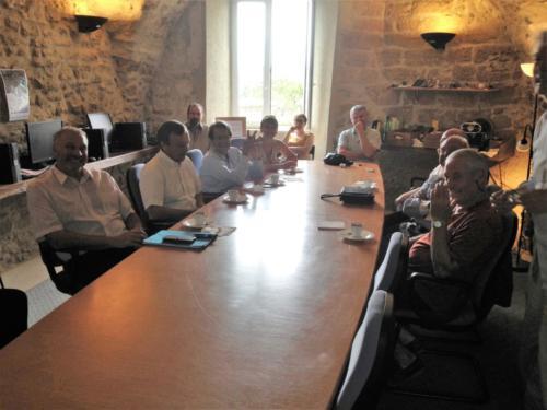 Sénateurs M. Alain Milon M. Alain Duffaut et conseiller régional M. Michel Bissières